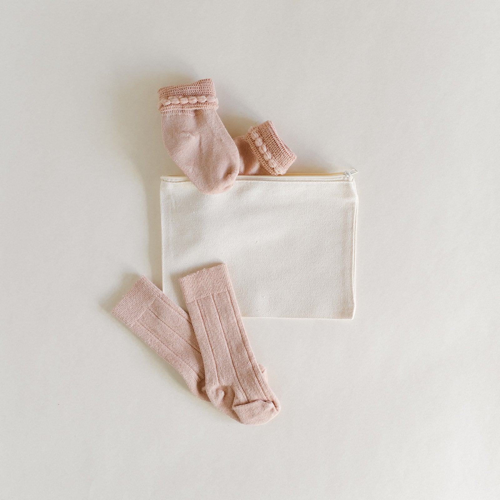 Rose Quartz Sock Gift Set - Tortoise & the Hare Clothing
