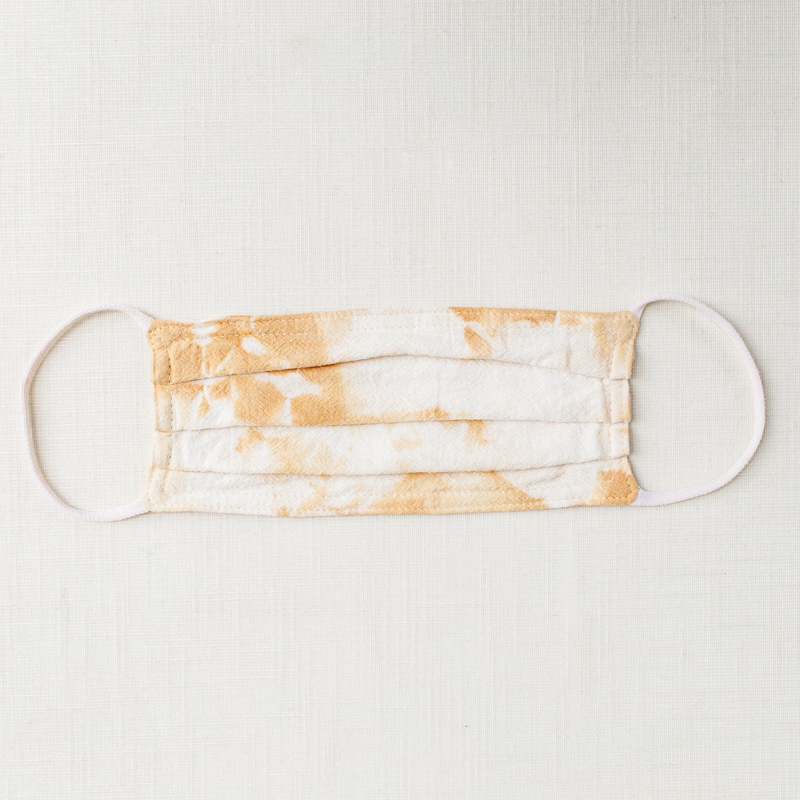 Marigold Tie Dye Cloth Face Mask - Tortoise & the Hare Clothing