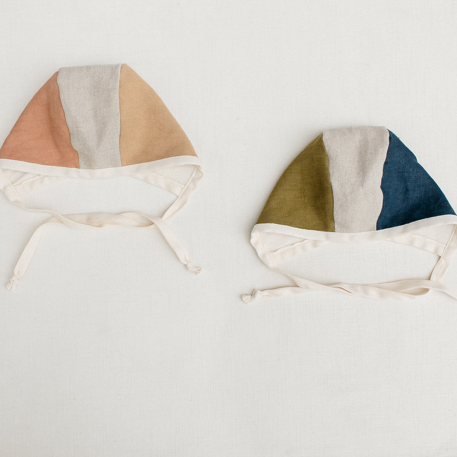 Indigo + Moss Colorblock Bonnet - Tortoise & the Hare Clothing