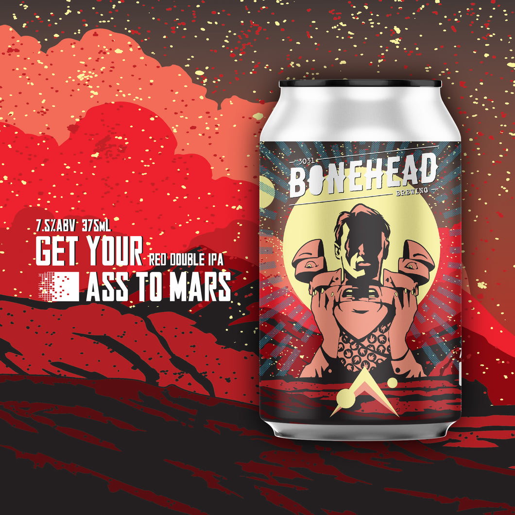 Get Your Glass To Mars Combo - GYATM RDIPA (4-Pack) with Limited Edition Glass