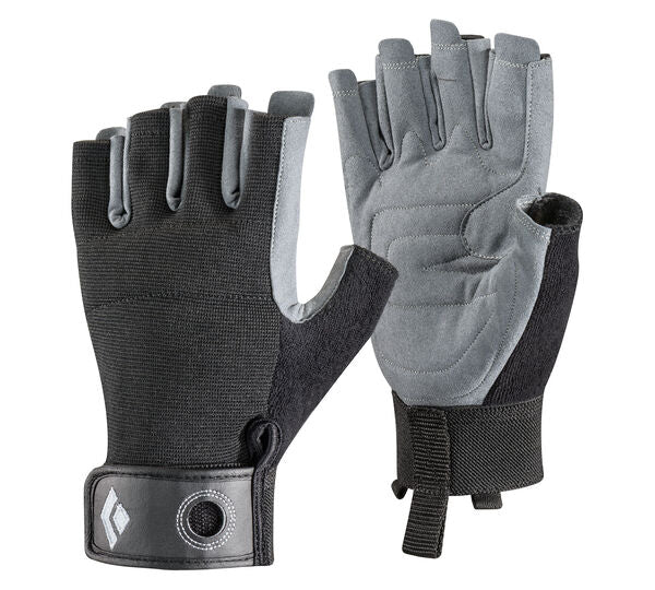 Crag Half Finger Glove (Black)
