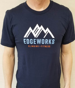 Unisex Short Sleeve Edgeworks Logo Tee (Stacked)
