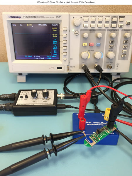 Differential Preamplifier for any Oscilloscope