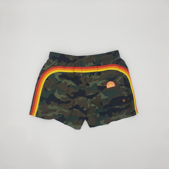 ELASTIC WAIST SWIM TRUNKS - BoUvy