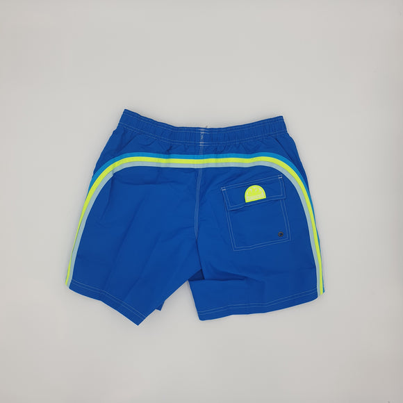 STRETCH WAIST MID-LENGTH SWIM TRUNKS - BoUvy