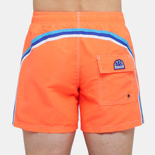 Load image into Gallery viewer, ELASTIC WAIST SWIM TRUNKS