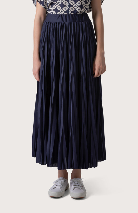 Pleated jersey skirt - BoUvy