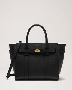 Small Zipped BayswaterBlack Small Classic Grain - BoUvy