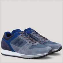 Load image into Gallery viewer, Sneakers H321 grey, blue