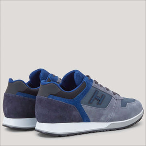 Sneakers H321 grey, blue