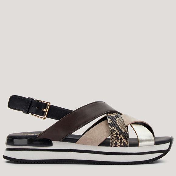 H222 Crossed Sandals - BoUvy