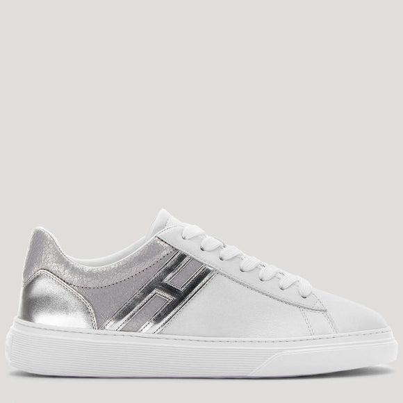 Sneakers H365 silver, white - BoUvy