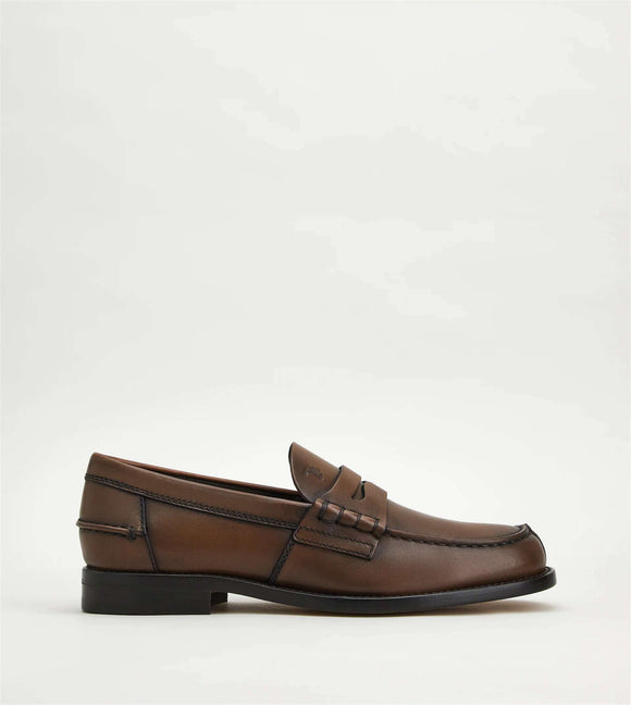 Loafers in Leather - BoUvy