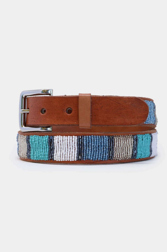 Block Leather Belt - BoUvy