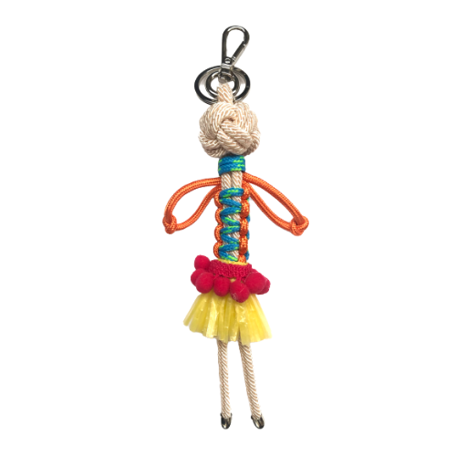 BALL WOMAN Key Ring - BoUvy