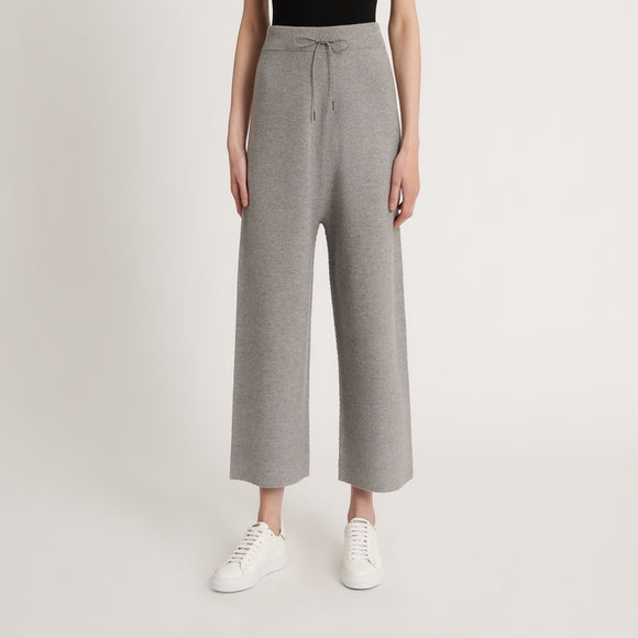 Wool, cotton and cashmere trousers - BoUvy