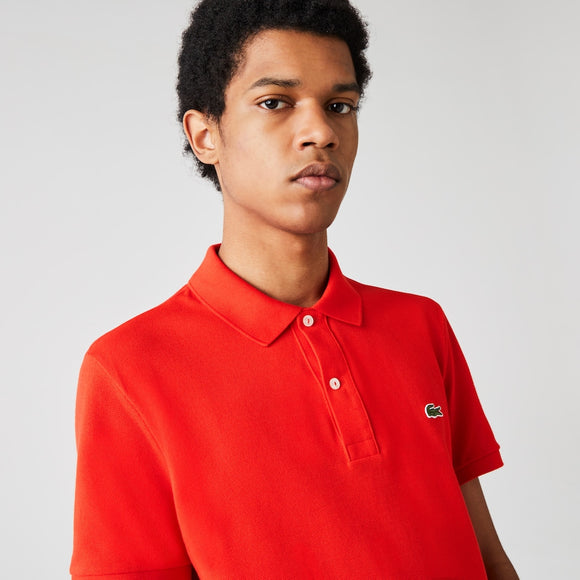 Men's Slim fit Lacoste Polo Shirt in petit piqué - BoUvy