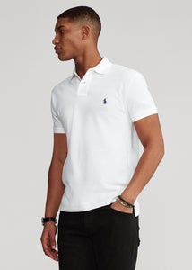 Slim Fit Mesh Polo Shirt - BoUvy