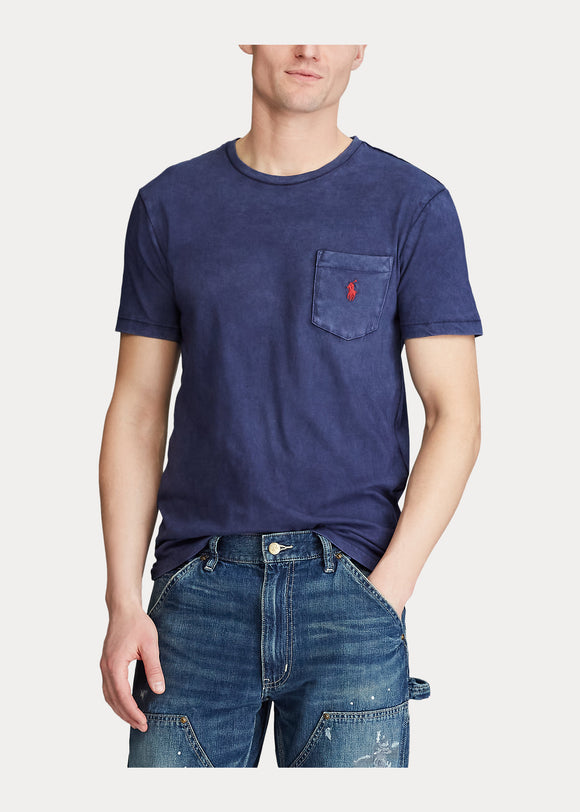 Custom Slim Fit Jersey Pocket T-Shirt - BoUvy