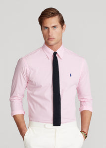 Slim Fit Striped Poplin Shirt - BoUvy
