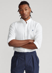 Slim Fit Linen Shirt - BoUvy