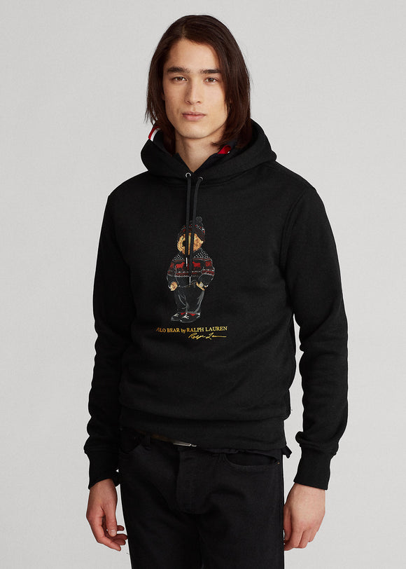 Lunar New Year Polo Bear Fleece Hoodie - BoUvy
