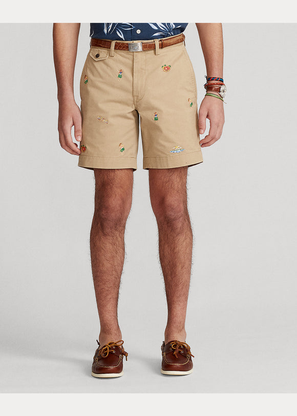 Stretch Straight Fit Twill Short - BoUvy