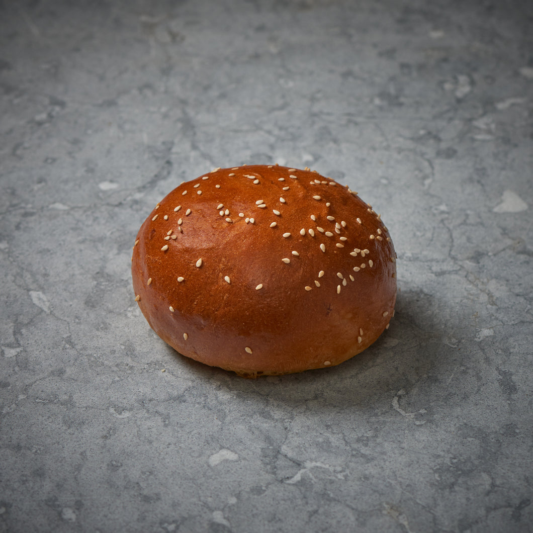 BRIOCHE BURGER BUNS (10CM) PACK OF 4