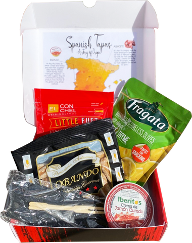 Spanish Tapas Box (30 units / case - €1.90/unit) - EUROPE ONLY