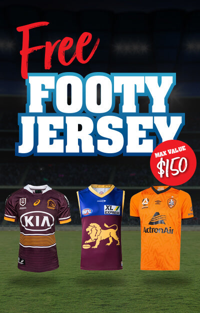 Free Footy Jersey QLD