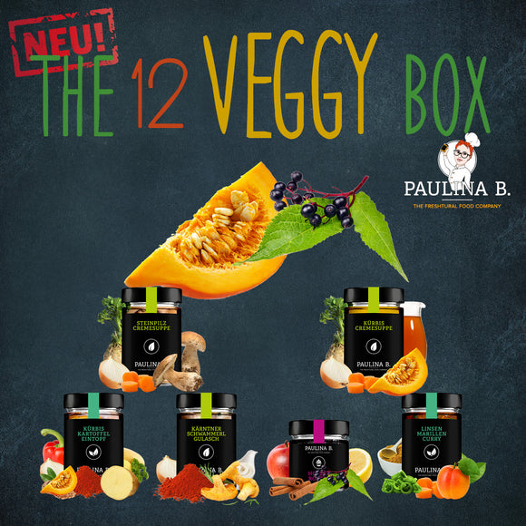 The 12 VEGGY Box