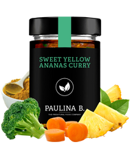 Laden Sie das Bild in den Galerie-Viewer, 6x Sweet Yellow Ananas Curry