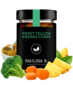 6x Sweet Yellow Ananas Curry