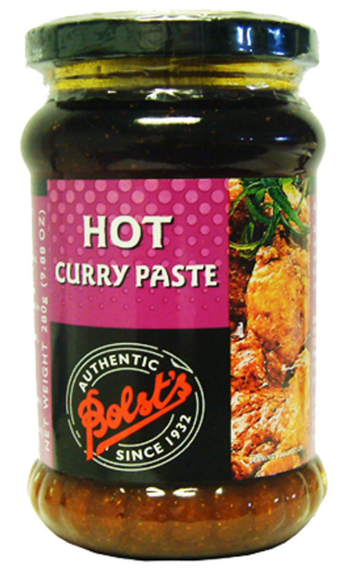 Bolst's Curry Paste Hot 12x280g