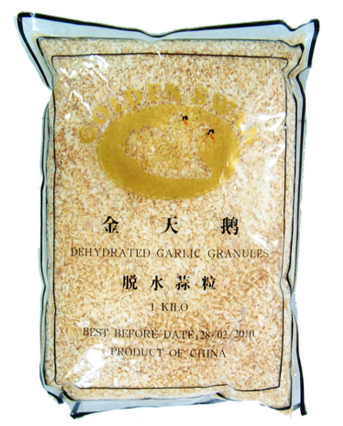Golden Swan Garlic Granules 22x1kg