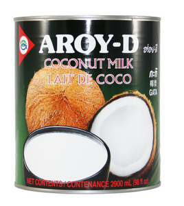 Aroy D Coconut Milk 6x2900ml