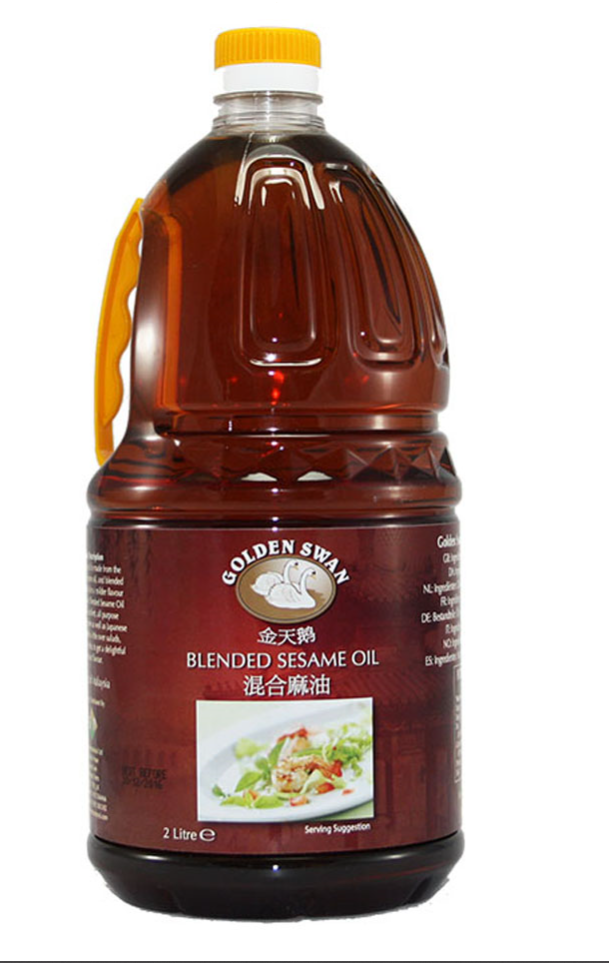 Golden Swan Blended Sesame Oil 4x2ltr