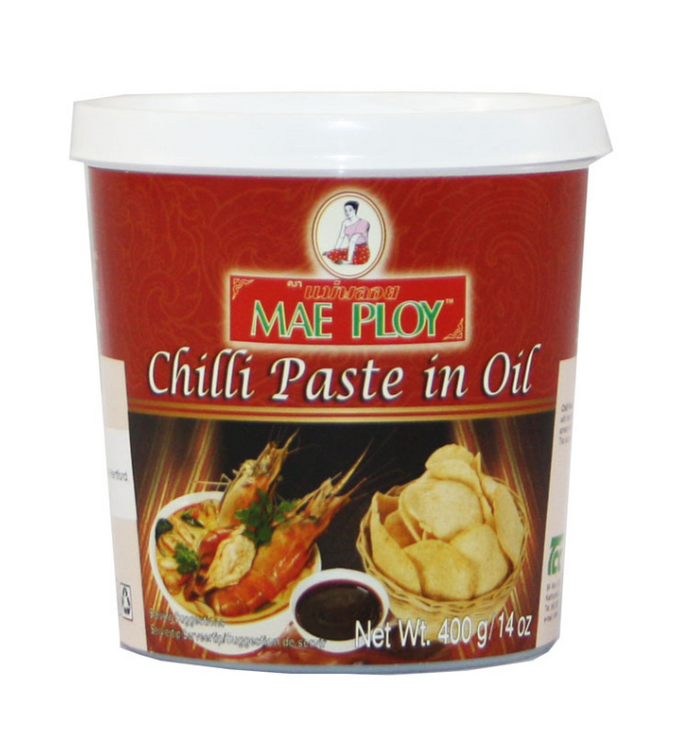 Mae Ploy Chilli Paste in Oil 24x400g