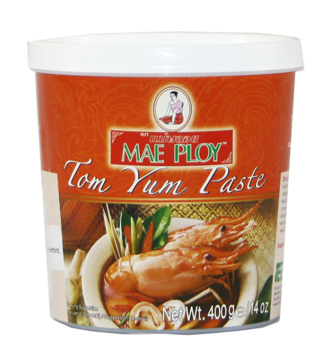 Mae Ploy Tom Yum Paste 24x400g