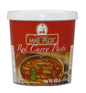 Mae Ploy Red Curry Paste 4x6x400g
