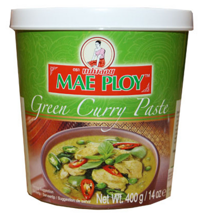 Maeploy Green Curry Paste 4x6x400g
