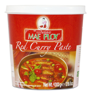 Mae Ploy Red Curry Paste 12x1kg