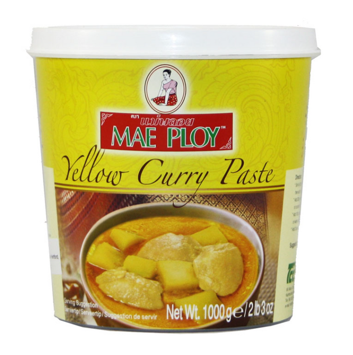 Mae Ploy Yellow Curry Paste 12x1kg