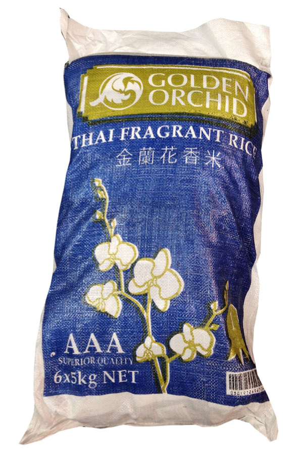 Golden Orchid Fragrant Thai Rice 5kg