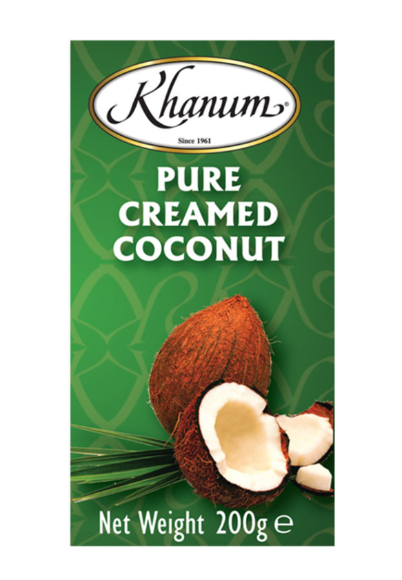 Khanum Pure Coconut Cream 40x200g