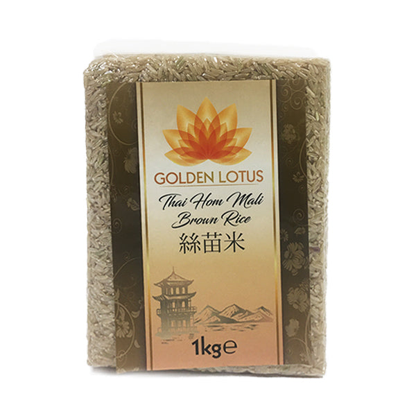 Golden Lotus Thai Hom Mali Brown Rice 10x1kg