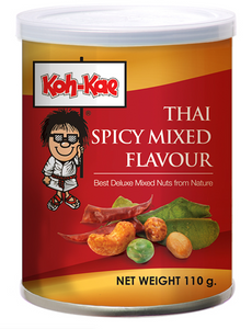 Koh-Kae Peanuts - Thai Spicy Mix 12x110g