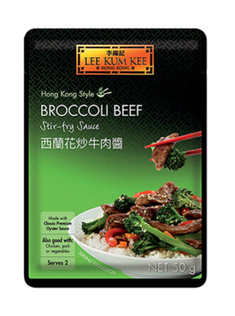 Lee Kum Kee Broccoli Beef Stir Fry Sauce 12x50g