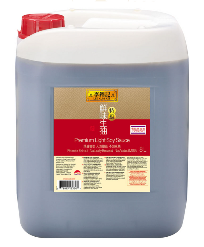 Lee Kum Kee Premium Light Soy 2x8ltr