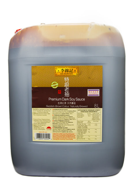Lee Kum Kee Supreme Dark Soy 2x8lt